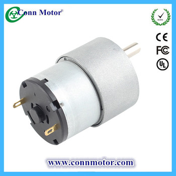 12 Volt Electric DC Motor Gear Box with High Torque