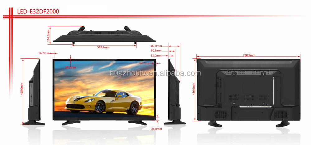 "ultra slim!new design 22"" 24"" 28"" 32"" 39"" 43"" 50"" 55inch D LED Television"