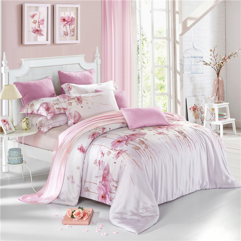 popular light pink bedding buy cheap light pink bedding lots from china light pink bedding. Black Bedroom Furniture Sets. Home Design Ideas