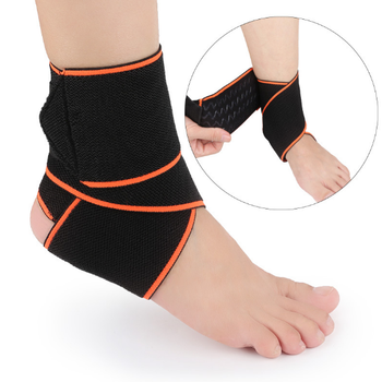 Breathable Adjustable Neoprene Ankle Brace for Running Basketball Ankle Sprain Support