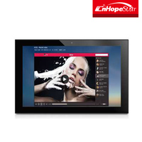14 inch desktop or wall mount Android touch screen computer all in one