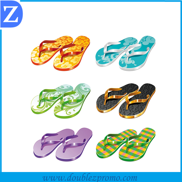 Wholesale comfortable heat transfer printing flip flops