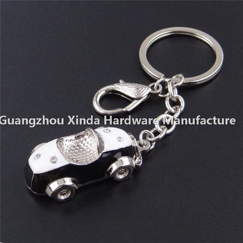 Popular In Germany Customized Luxury Car Metal Keychain Cheap Custom