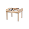 Popular Wooden Computer Desk Stand Display Tables For Wholesale