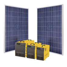 China new energy 200w home solar system india with 500w inverter and charger