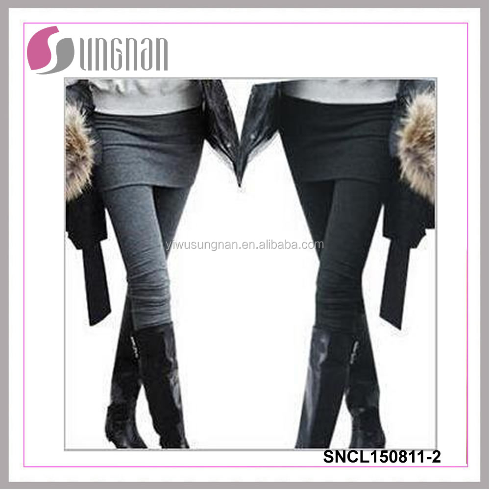 New fashion women leggings skirts leggings skirts with leggings