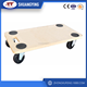 MDF wooden dolly/wooden tool cart/furniture moving cart