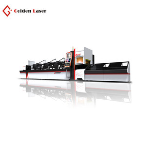 Made in China tube 1000w 2000w fiber laser cutting machine with automatic loading