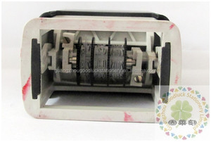 Hot sale pocket roller dater rubber stamp/New coming rubber stamper with date