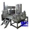 Micmachinery dispersion and emulsion vacuum emulsifying mixer for cheese
