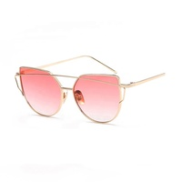 2018 fashion popular men's and women's PC brass sunglasses
