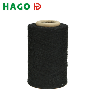 recycled regenerated cotton polyester blended knitting yarn