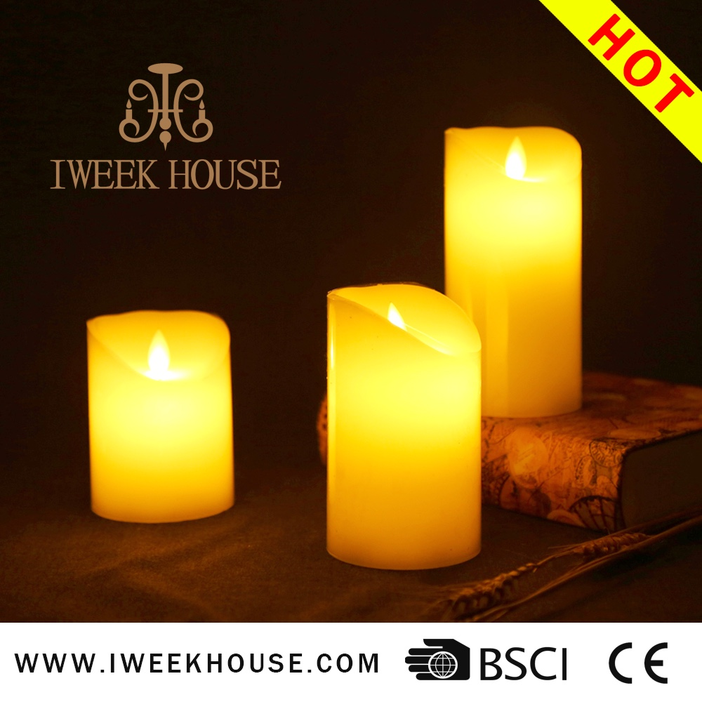 Brand New Flameless Moving Wick Wax Led Candle