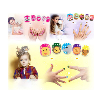new product ideas 2018 professional private label kids washable makeup set kids makeup nail set for girl