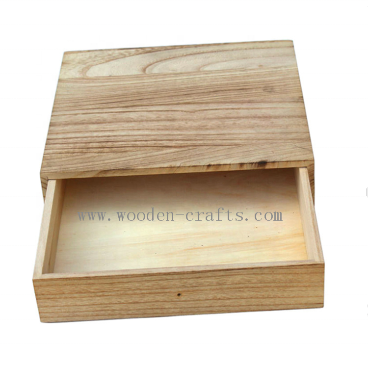 Pretty Wooden Jewelry Gift Case Bamboo CD <strong>Box</strong> For Mother