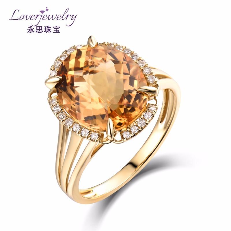 Custom Design Latest Simple La s Round Cut 4 6 Carat Crystal