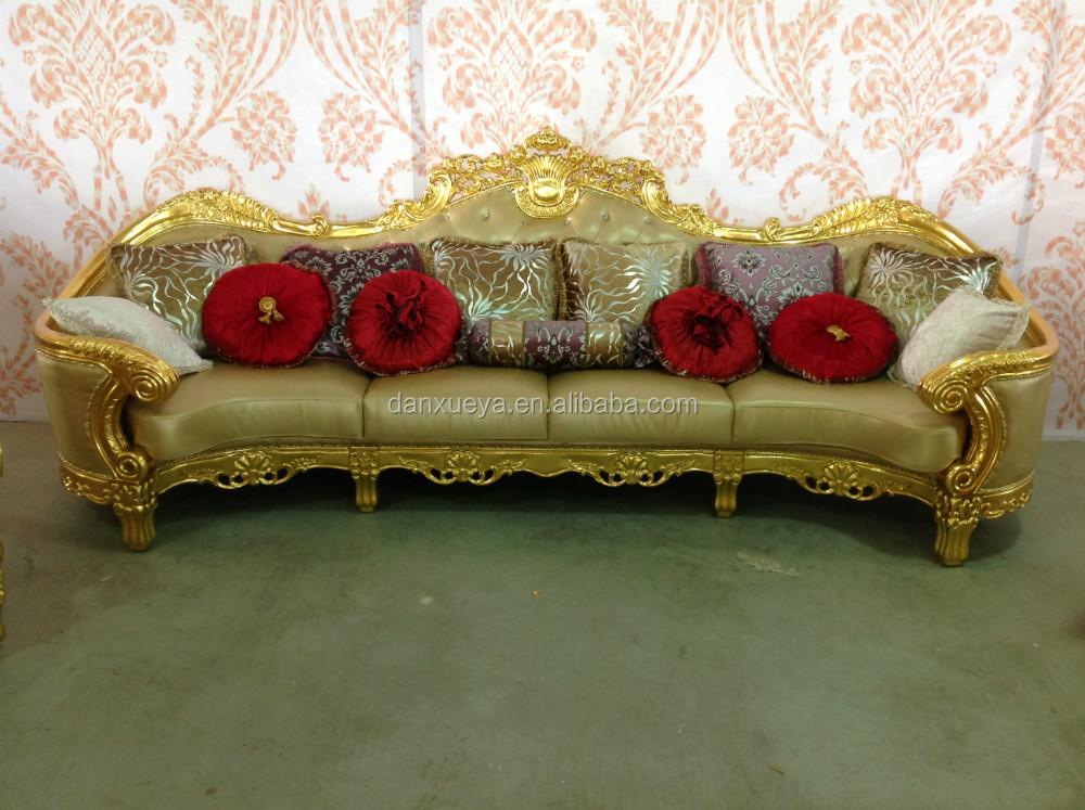 China Danxueya Wedding Sofa Chesterfield Arab Leather Sofa Buy