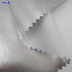 High quality 210d nylon fabric price waterproof coated taffeta fabric