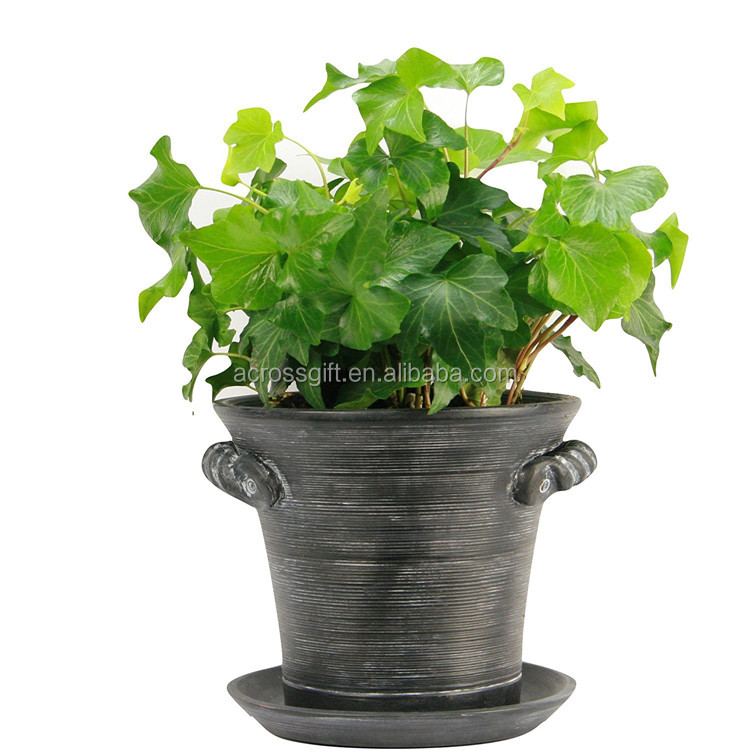 Customized Handmade Color Glazed Decorative Ceramic Indoor Pot Planter