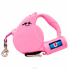 retractable dog leash with poop bag