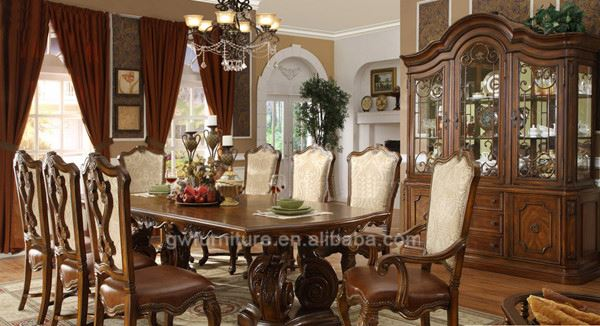 mdf dinner table sets