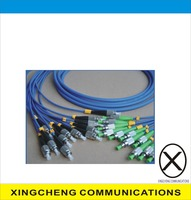 Fiber Optic Patch Cord/Armoured Patch Cable with SC, LC, ST, FC Connectors