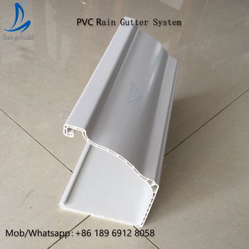 Wholesale Price Durable Uv Resistant Plastic Roof Gutter