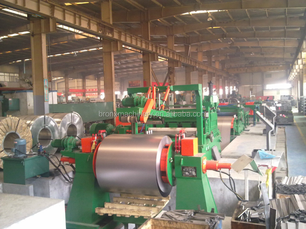 HR steel coil cutting machine, cut to length line, coil cutting machine
