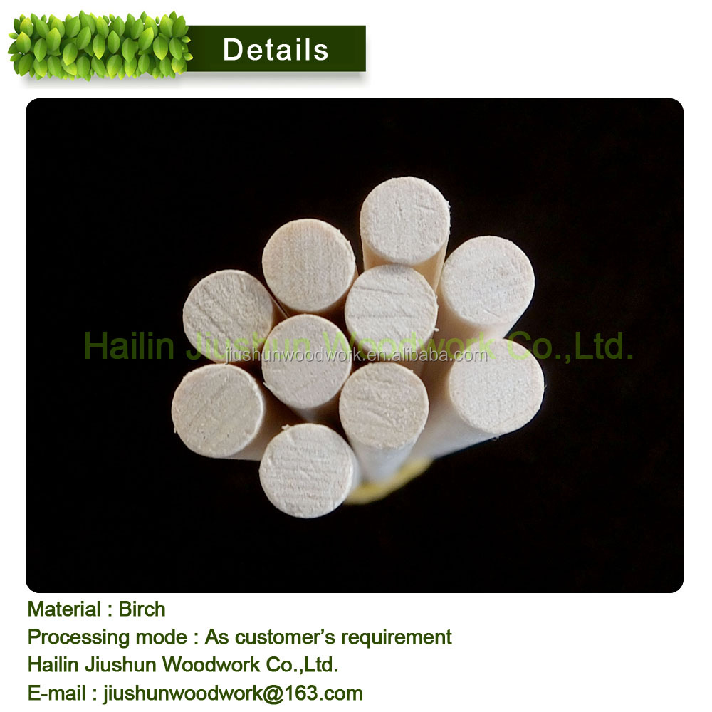 Wooden dowel rod / round stick for craft candy decorate