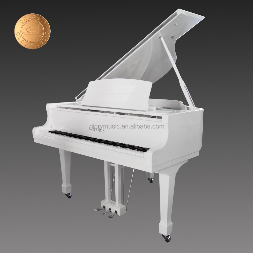 Chloris 88 key Digital Piano Parts Dream Sound White Acoustic Baby Grand Piano Prices HG-152W with Free Piano Bench for Sale