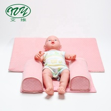 Verstelbare Anti Roll Ademend Baby <span class=keywords><strong>Slaap</strong></span> Kussen Wedge