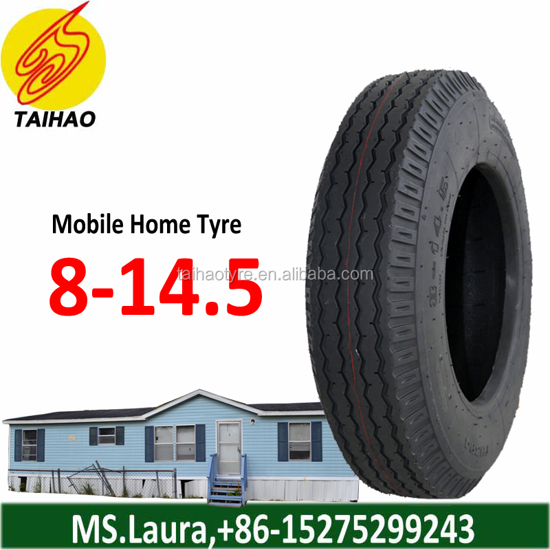 Mobile Home Trailer Tire 8-14.5 with Tube and Flap