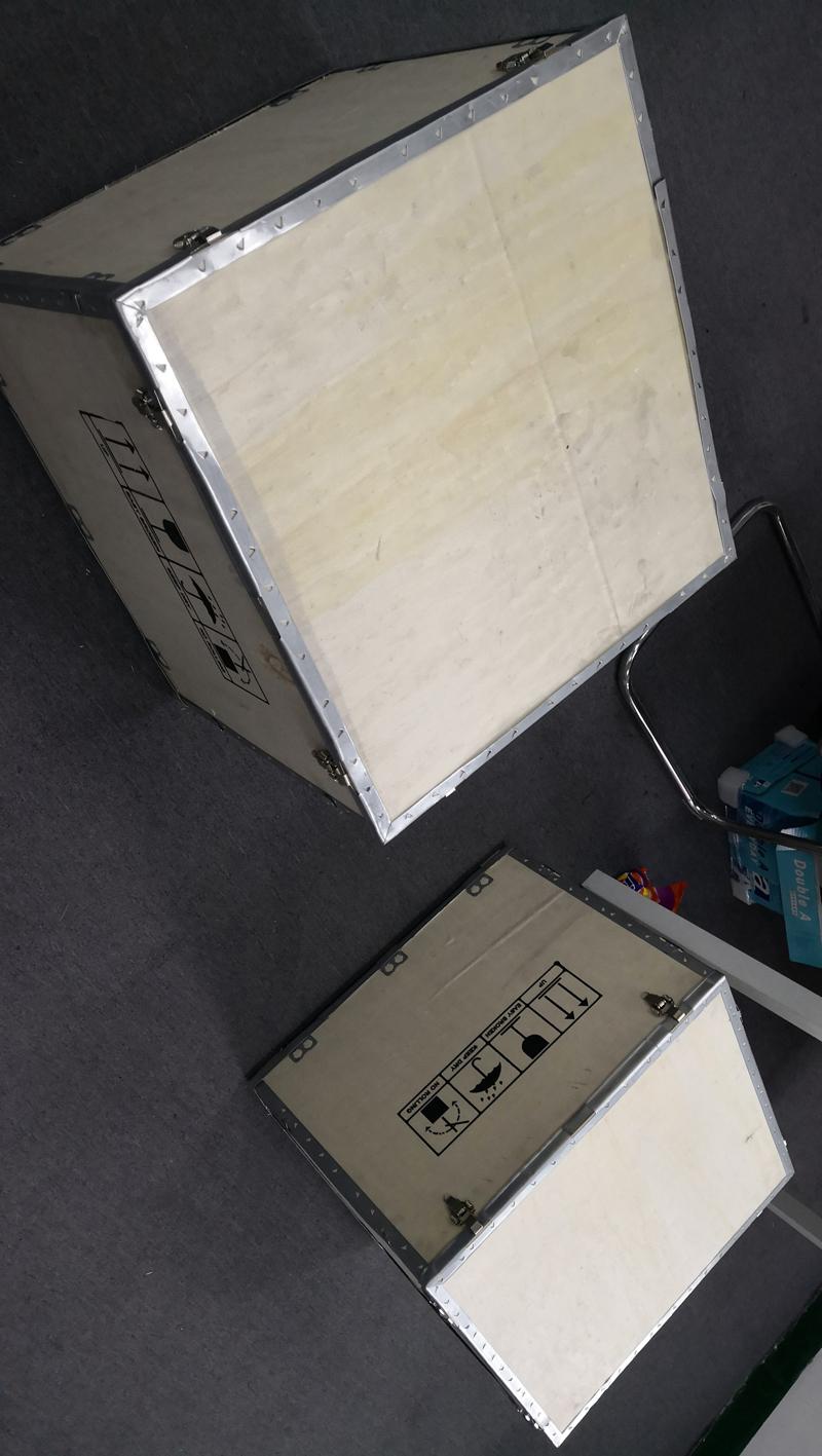 オープンクローズrf吸収性フォーム引き出しタイプoem rfシールドボックスの70 db空気圧制御