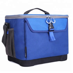 Portable Insulated Polyester Freezer Storage Picnic Ice Cooler Bag