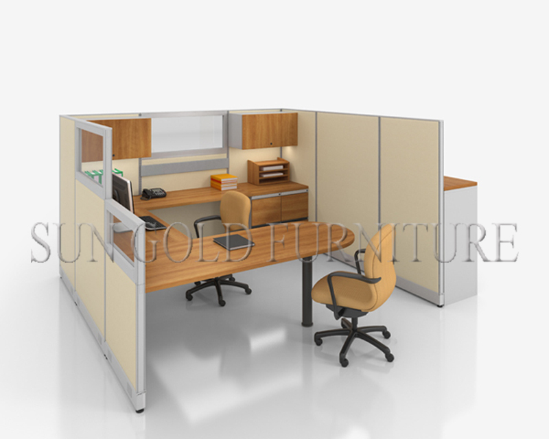 Modern reception table design modular office desk call for Center table design for office