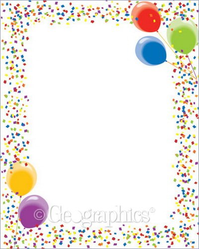 Geographics Let's Party Poster Board, 22 x 28 Inches, Design, 10-Sheet Case (23313)