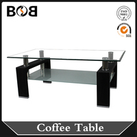 Contemporary Large Tall Square White Chinese Alibaba High Gloss Lift Top Glass Coffee Table Modern