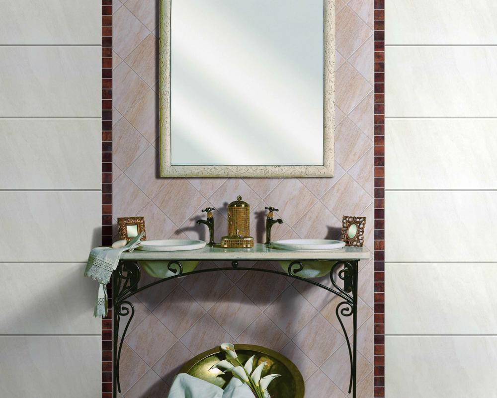 Muro del bagno piastrelle di ceramica 3d rivestimenti bagno digitale
