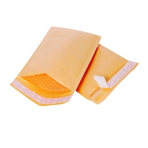 #000 Recycled Yellow Kraft Paper Mailers Padded Bubble Envelope