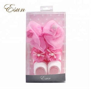 Baby accessories,flower headband with socks set baby decorations