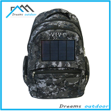 Outdoor Pack Commputer Solar Powered hydration Backpack