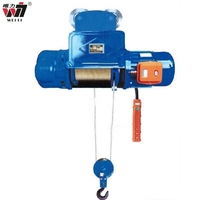 mitsubishi cd1 1 ton 10 ton 20ton 5ton 2ton air cable wire rope electric pulley hoist specifications hoist