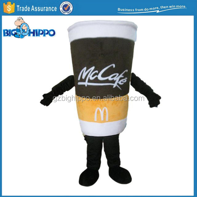 Customize Coffee Cup Mascot Costume