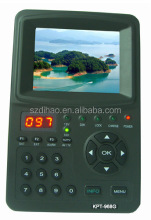DIHAO Tech KPT-968G Hot sale handheld portable KPT 968G digital DVB-S/S2 hd satellite sat tv signal finder meter