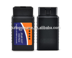 ELM327 V1.5 OBD2 OBD-II Bluetooth CAN-BUS UniversalAuto Car Diagnostic Tool scanner for Windows XP, Vista, Win7, OSX and Android