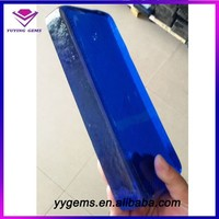 Blue Raw Stone Material Uncut Glass Rough Gemstone Wholesale Price