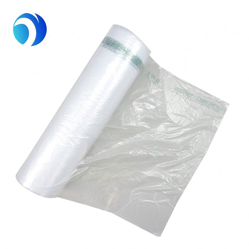 The HDPE plastic bags with all kind of sizes and colors