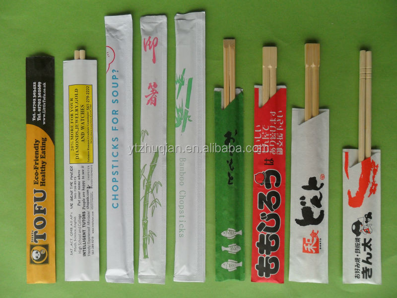 Round disposable bamboo chopsticks FDA Disposable Bulk Bamboo Chopstick