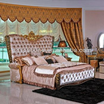 0061 Foshan Factory Wholesale Prices High End Italy Classic Luxury Bedroom  Furniture