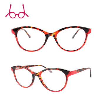 ccc306c593 Red Fancy Tattoo Glasses Frames